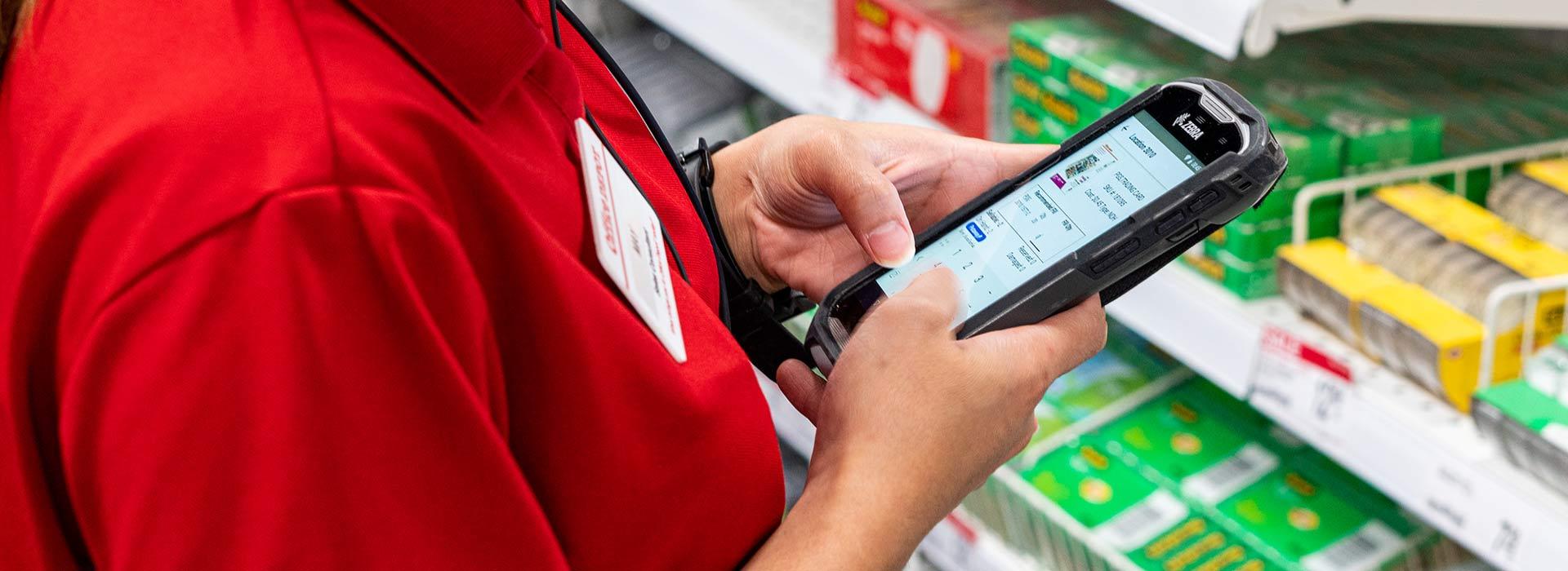 Einzelhandel MDE Geräte