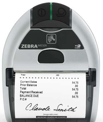 Zebra iMZ Serie